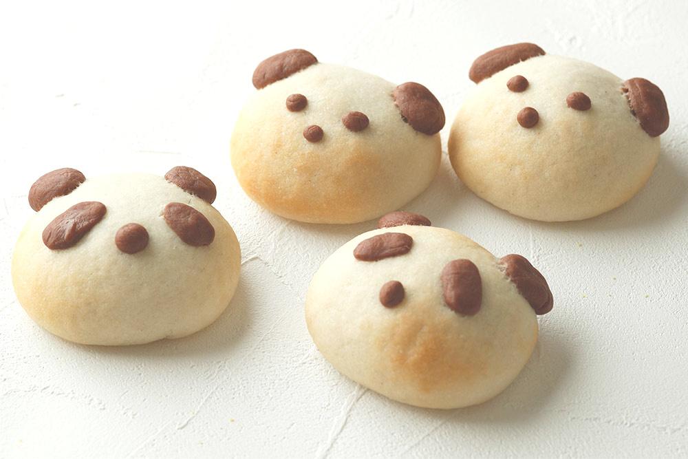 米粉パン講座/動物アンパン